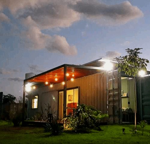 container homes built by glorious container conversions Uganda limited